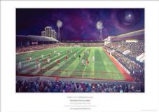Leyton Orient Brisbane Road 1978 FA Cup v Middlesbrough A3 Unframed print